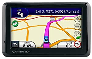 """Garmin Nuvi 1390T 4.3"""" Sat Nav with UK and Europe Maps"""