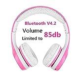 Best Headphones For Children - Kids Bluetooth Headphone, Hisonic wireless Earphones headphones Review