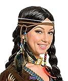 Folat Indian Head decoración trenzado y cuentas
