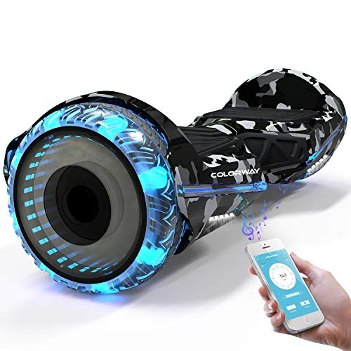 """COLORWAY Hoverboard Scooter 6.5"""", Self Balance Scooter Elettrico, Monopattino Elettrico + Hoverkart"""