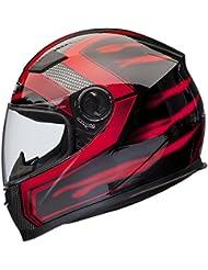 Shox Sniper Skar Motorrad Helm XXL Rot