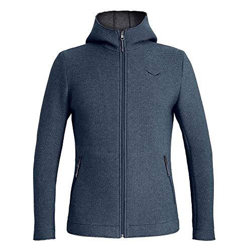 Salewa Sarner 2 Layer Wool Full-Zip Hoodie Herren antracite2 Größe EU 50 | L 2019 Jacke