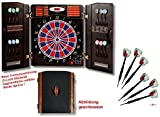 Dartautomat CB-90 im Cabinet-exakte Turniermaße in 2-Loch-Ausführung + 6 Dartpfeile von GamePoint