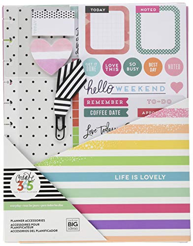 Unbekannt Happy Planner Big Accessories-Life is Lovely, 157/Pkg