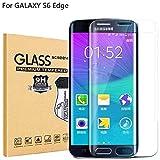 RUIST Samsung S6 Edge Schutzfolie,Samsung S6 Edge Schutzglas,Ultra Dünn Panzerglas Panzerschutz Folie Glas Folie [9H] Panzerfolie Folie Displayschutz Folie für Samsung Galaxy S6 Edge