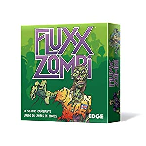 Edge Entertainment- Fluxx Zombi - Español, Color (Edge Enterteinment EELLFL03)