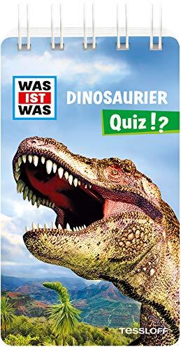WAS IST WAS Quiz Dinosaurier: Über 100 Fragen und Antworten! Mit Spielanleitung und Punktewertung