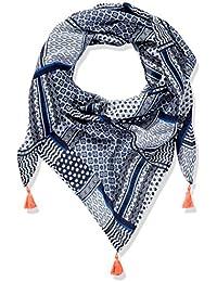 TOM TAILOR Kids Mädchen Halstuch Print Mix Scarf, Blau (Black Iris Blue 6740), One size
