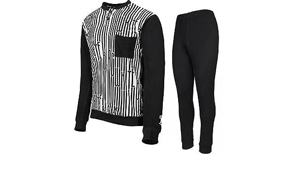 70b07afda00f46 PLANETEX Pigiama Juventus Abbigliamento Ufficiale Juve JJ PS 25418 Pigiami  Calcio Uomo: Amazon.it: Abbigliamento