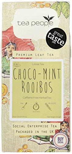 Tea People Choco Mint Rooibos - 100g Loose Tea Pack