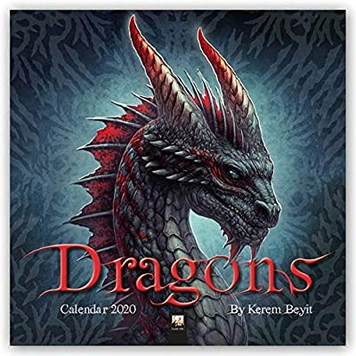 Dragons by Kerem Beyit Wall Calendar 2020 (Art Calendar)