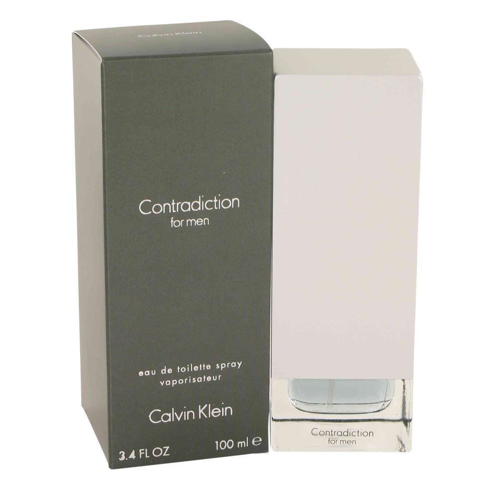 calvin klein contradiction eau de toilette for men 100. Black Bedroom Furniture Sets. Home Design Ideas