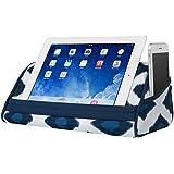 "LapGear Designer Tablet Pillow Navy Ikat (Fits up to 10.5"" Tablet)"