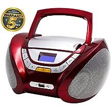 Lauson Radio CD Portátil USB