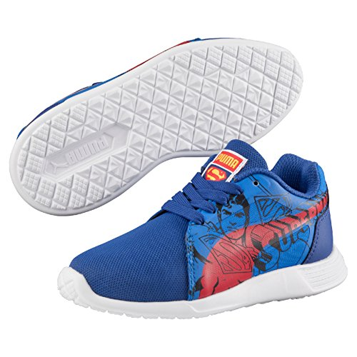 Puma St Trainer Evo Superman Ps Sneaker Blu (Limoges/High Risk Red)