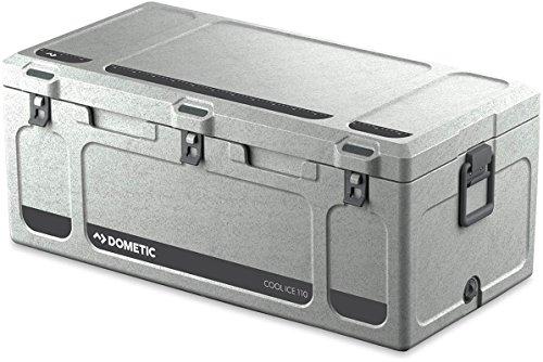 Dometic Cool-Ice CI 110, tragbare Passiv-Kühlbox / Eisbox, 111 Liter, für Auto, Lkw, Boot oder Camping, Ideal für Angler und Jäger