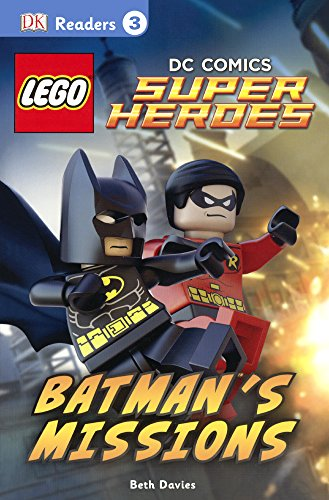 Lego DC Comics Super Heroes: Batman's Missions (Dc Comics Super Heroes: Dk Readers, Level 3)