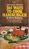 365 Ways To Cook Hamburger by Doyne Nckerson (1975-12-01)