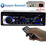 PolarLander Autoradio Audio USB / SD / MP3-Player Receiver Bluetooth-Freisprecheinrichtung mit...
