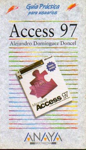 Access 97 - guia practica (Anaya Multimedia)