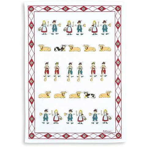 Mezzo lino stadtmeister, Trio lino, stampa immagine nobile bianco - Rosso, Format 50/70 - 00 Bianco Trio