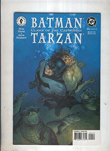 BATMAN CLAWS OF THE CAT WOMAN TARZAN: Numero 04