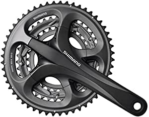 Shimano Ultegra FC- R603 Tandem chainset, 52 / 39/ 30 triple with 40T left, 175 mm