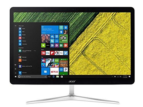 Acer Aspire U27 U27-880 Desktop PC All in One con Processore Intel Core i5-7200U, RAM 8 GB DDR4, 1000 GB HDD, Display 27' FHD Multitouch, Windows 10 Home, Argento