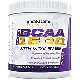 BCAA 1500 – Tabletas Ultra Strength BCAA – 1500mg por tableta – Suplemento con la mayor y mejor cadena de aminoácidos ramificados para llevar su rutina de ejercicios al siguiente nivel – Uso para 3 meses