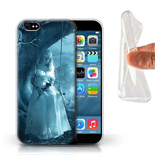 Offiziell Elena Dudina Hülle / Gel TPU Case für Apple iPhone 6S / Glasscherben Muster / Liebe Kunst Kollektion Luz Sombra