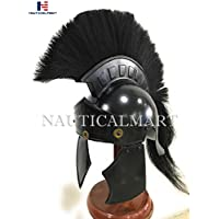 nautique Mart Greco romain casque Noir Plume Wearable Halloween