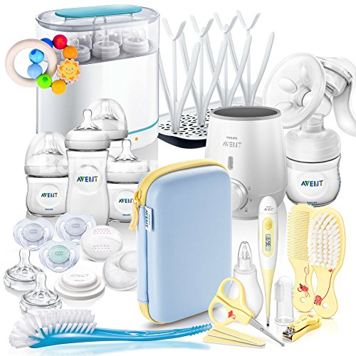 Philips AVENT Naturnah Starter-Set MEGA-SET V // All-in-One // - mit viel Zubehör - Starter Set -