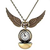 Colgante Reloj Quidditch Snitch Dorada Regalo Harry Potter