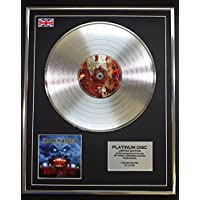 IRON MAIDEN/LTD Edicion CD platinum disc/ROCK IN RIO
