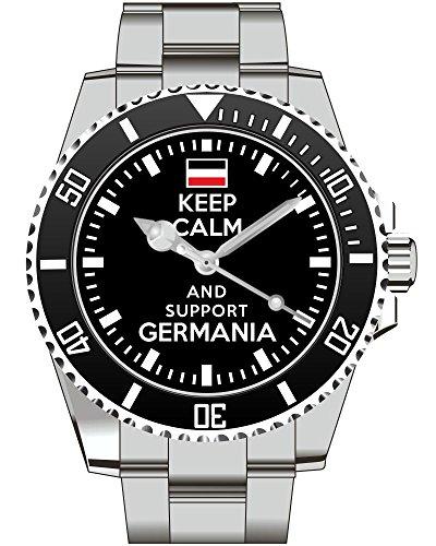 Keep calm and support Germania Deutsches Reich Deutschland - Uhr 1658