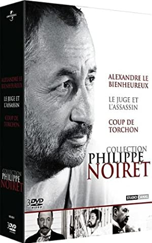 Coffret Philippe Noiret - Alexandre le bienheureux + Le juge et l'assassin + Coup de torchon