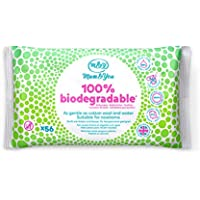 Mum & You 100% Biodegradable Vegan Certified Plastic Free Baby Wet Wipes, Pack of 12, (672 Wipes in Total). 98% Water, 0% Plastic, Hypoallergenic & Dermatologically Tested
