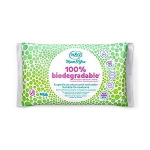 Mum & You 100% Biologisch Abbaubare Feuchttücher für Babys. 98% Wasser, 0% Kunststoff, Hypoallergen und Dermatologisch Getestet.