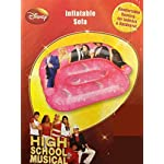 Character Worldd High School Musical Inflatable 2 Seater Sofa Childrens Blow Up Armchair