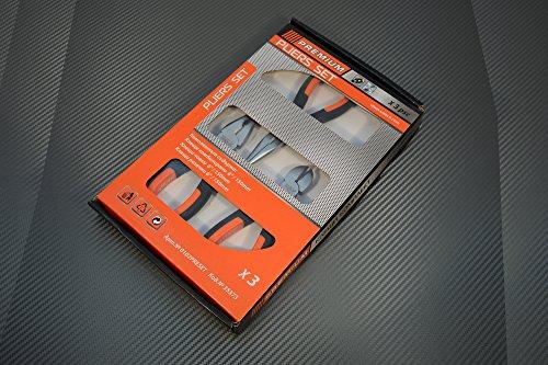 Premium Zangenset Bestseller-Paket Wasserpumpenzange Seitenschneider Kombizange