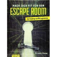 Mach dich fit für den Escape Room: Die Challenge mit 80 Logikrätseln