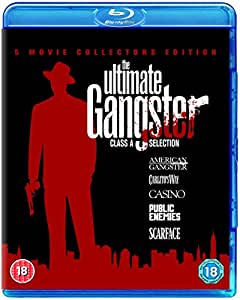 The Ultimate Gangsters Box Set 2011 [Blu-ray] [Region Free]