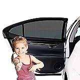 Etmury Sonnenschutz Auto Kinder/Baby (2 Stück), Sonnenblende Auto für Baby mit...