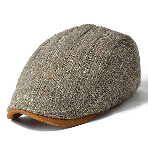 Chapeaux femmes/Automne Cap/Chapeau d'hiver hommes/Chapeaux de laine plein air/Béret hiver/Cap des peintres A