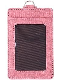 6ac6b0656f SimpleLife Portafoglio SlimLife da Uomo con Porta Carte di Credito Blocco  RFID, Porta Badge,