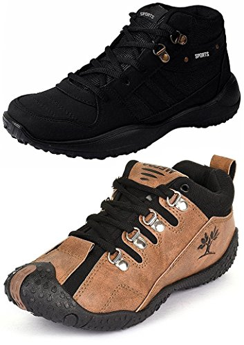 6. Maddy Men's Perfect Combo Pack of 2 Sports & Running Shoes