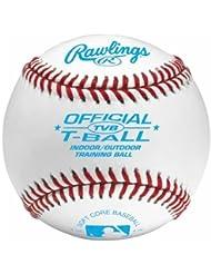 Rawlings Tvb Lot de 24 balles de baseball Blanc Taille 9