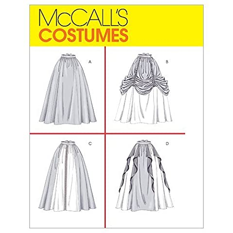 McCall's Patterns M4090 Misses' Renaissance Skirts, Size CCD (10-12-14-16) by McCall's Patterns