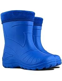 Botas de nieve Wellington, para niños, impermeables, transpirables, para niños, ligeras