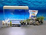 Sunsun AT-500 A Nano Aquarium Touch Display con Decorazione nanoacquario Completo Acquario Set di Programmazione